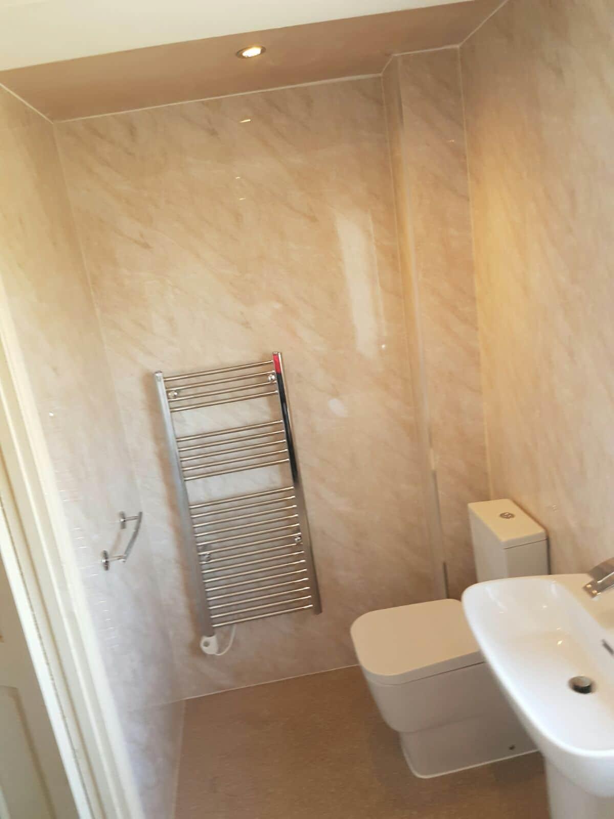 Pergamon Marble - 3 Wall Shower Panel Kit | Igloo Surfaces