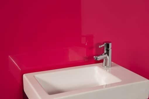 Striking Pink Sink