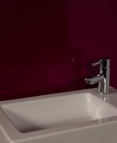 Striking Purple Sink