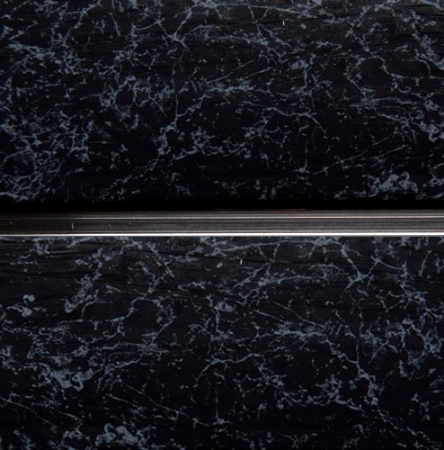 black-marble-chrome-strip