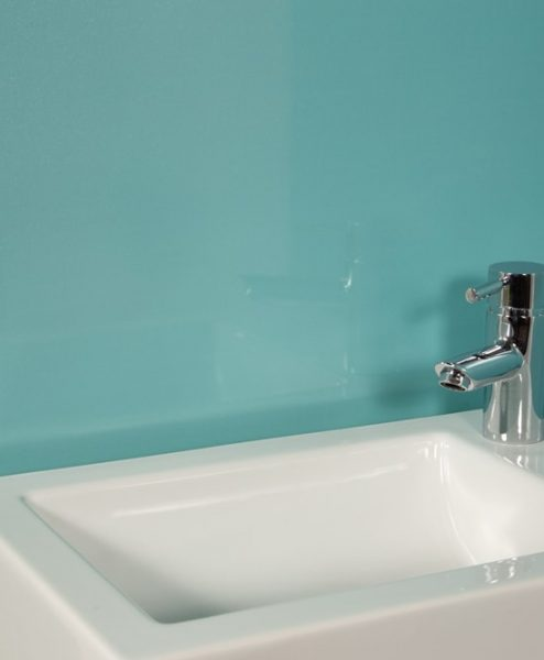 Aqua Bathroom Wall Panels