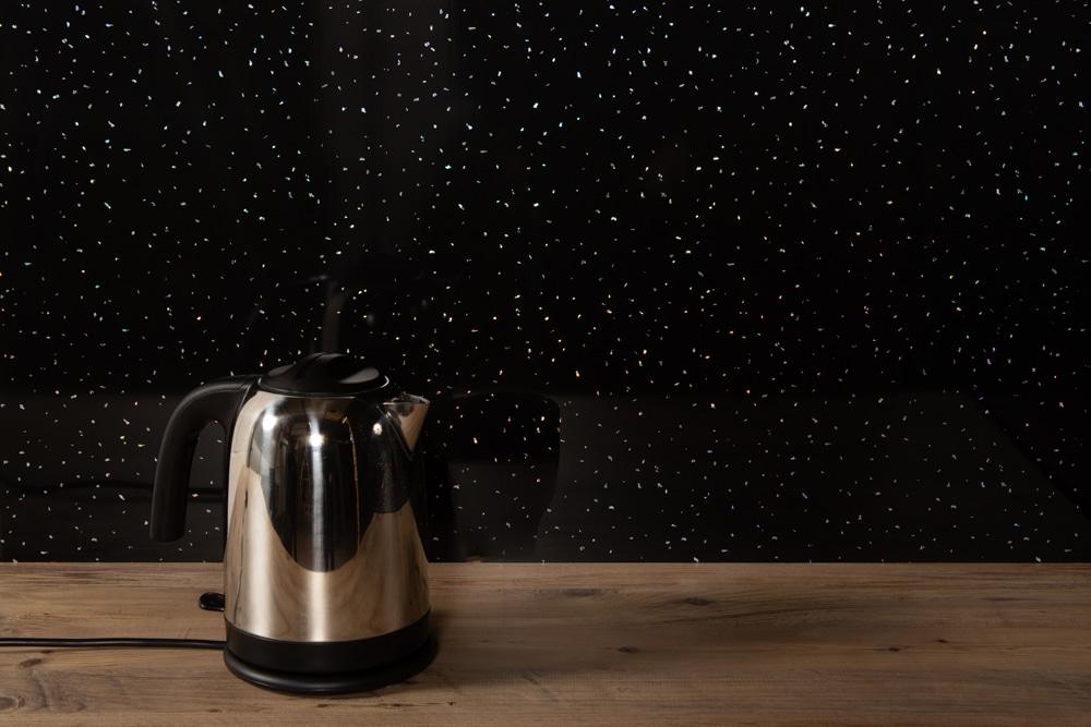 Black Sparkle Shower Wall Panel (Single)   Igloo Surfaces