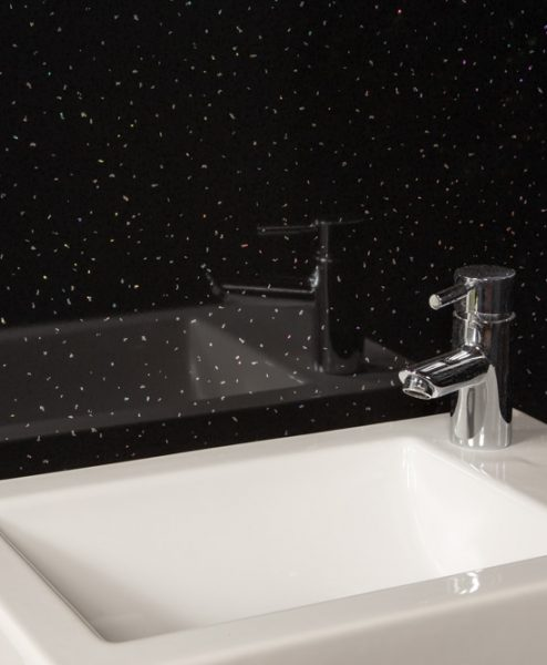 Black Sparkle Sink