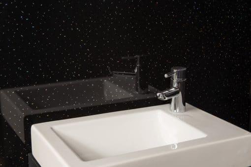 Black Sparkle Sink
