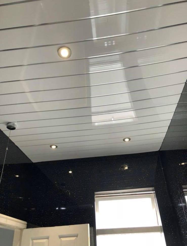 Single White Chrome Panel Igloo Surfaces