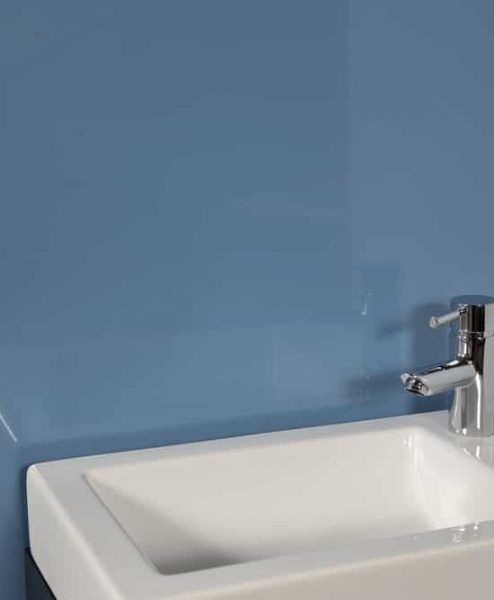 Striking BLue Sink