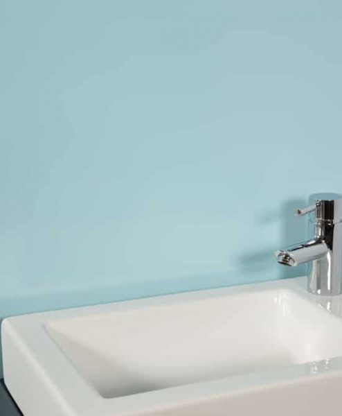 Subtle Blue Sink