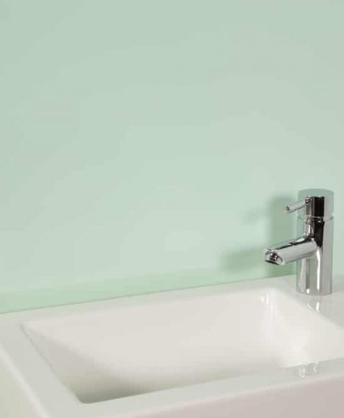 Subtle Green Sink