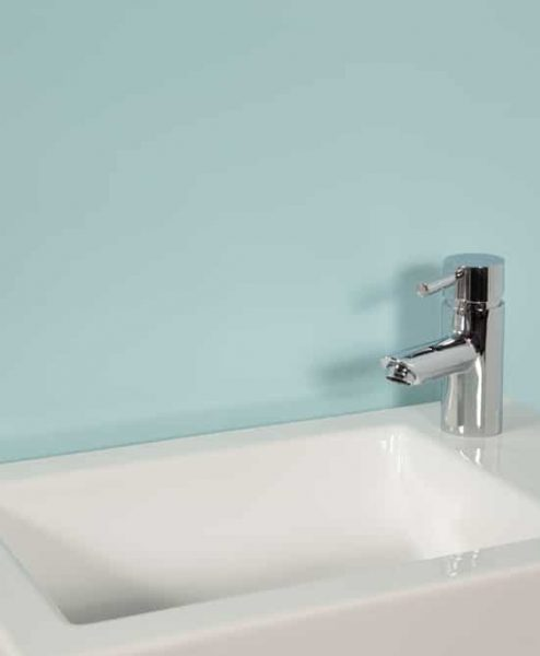 Subtle Mint Sink