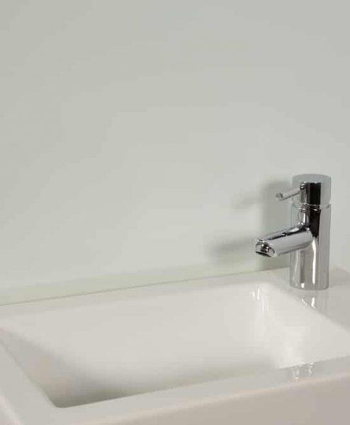 Subtle Seafoam Sink