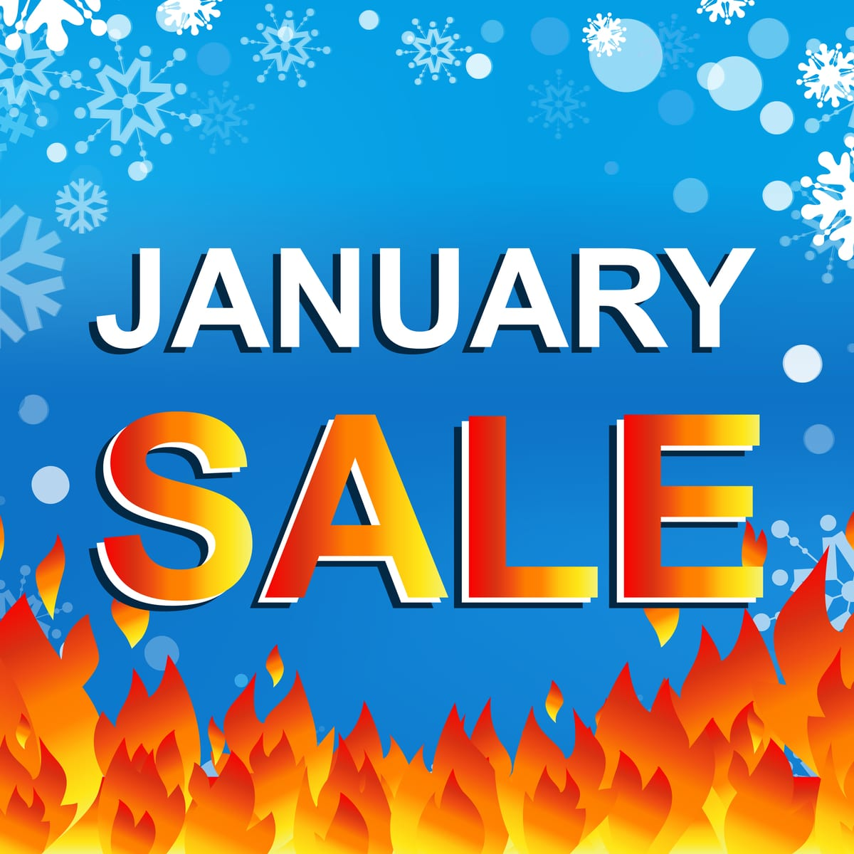 Red Hot January Sale Now On