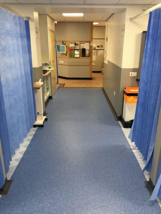 Refurbishment at Harrogate Hospital