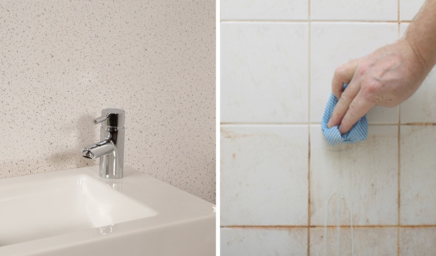 Shower Wall Panels Vs Ceramic Tiles Which Is Better Igloo Surfaces