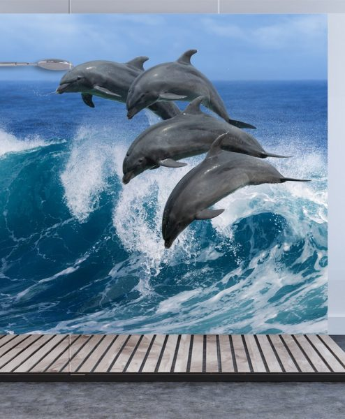 Dolphin Shower & Bathroom Wall Panel