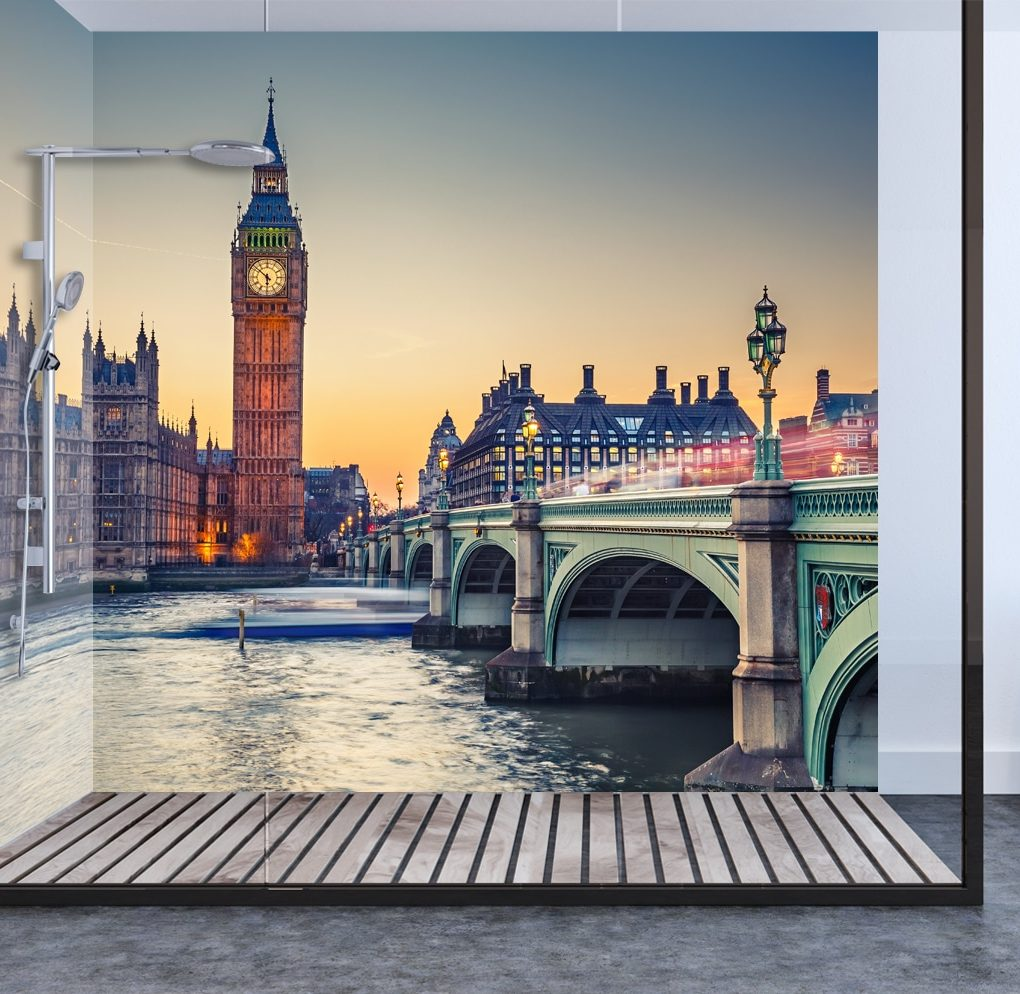 Big Ben Shower & Bathroom Wall Panel