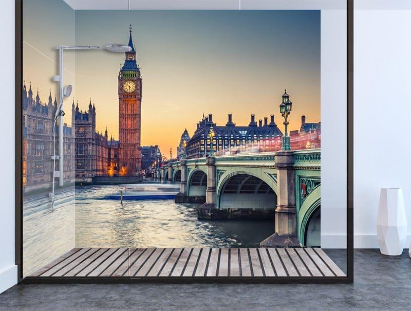 Big Ben Shower & Bathroom Wall Panel