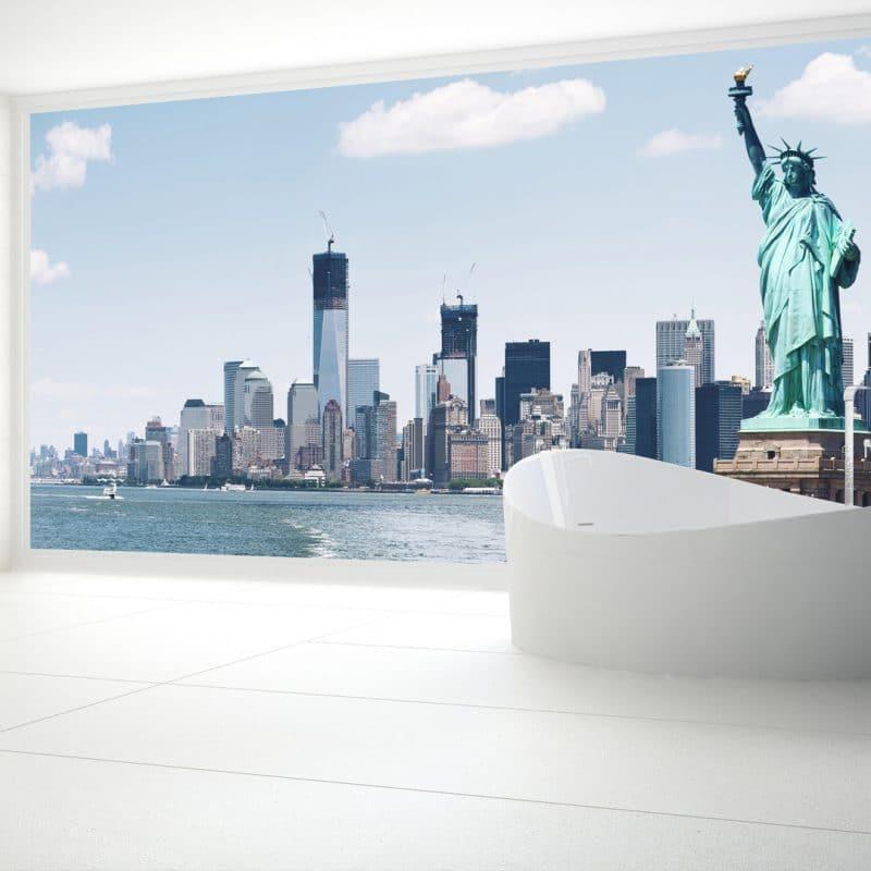 Statue of Liberty Panel Shower & Bathroom Wall Panel