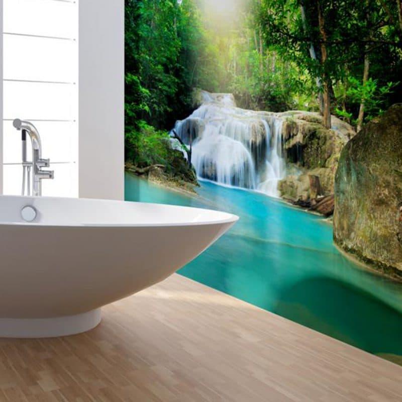 Waterfall Shower & Bathroom Wall Panel