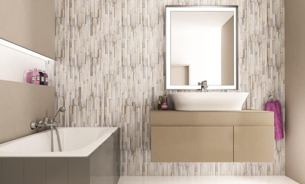 6 Bathroom Wall Covering Ideas