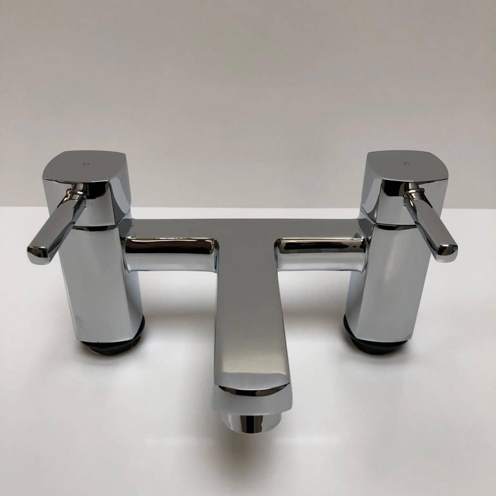 Icicle bath filler chrome 3 Tap