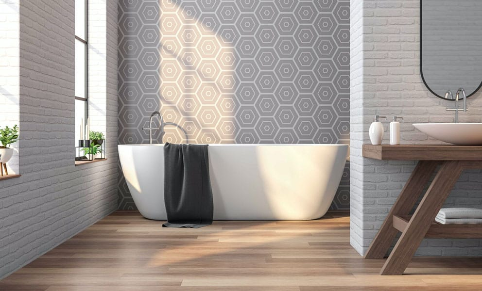 The Pros and Cons of Wood Floors in Your Bathroom