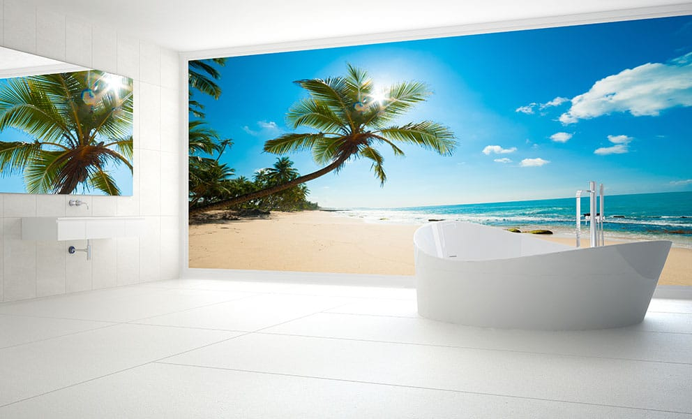 How to Incorporate Wall Art with Bathroom Panels